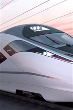 Preview iPhone wallpaper ZEFIRO 380 train