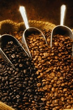 Preview iPhone wallpaper A bag of coffee beans
