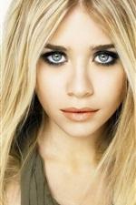 Preview iPhone wallpaper Ashley Olsen 01