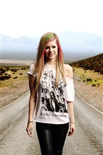 Preview iPhone wallpaper Avril Lavigne 15