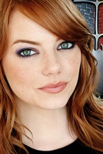 Preview iPhone wallpaper Emma Stone in The Amazing Spider-Man