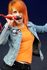 Preview iPhone wallpaper Hayley Williams 02