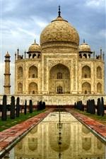 Preview iPhone wallpaper India Agra Taj Mahal