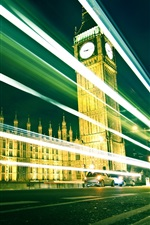 Preview iPhone wallpaper London's Big Ben at night