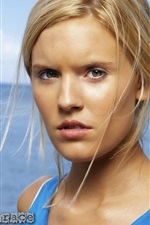 Preview iPhone wallpaper Maggie Grace 01