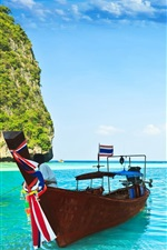 Preview iPhone wallpaper Phi Phi Islands