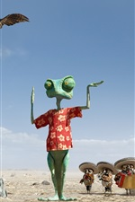 Preview iPhone wallpaper Rango HD