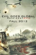 Preview iPhone wallpaper Resident Evil: Retribution 2012