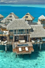 Sea villas houses