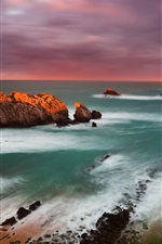 Preview iPhone wallpaper Spain Cantabria sunset