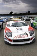 Super sports car race
