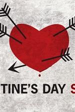 Preview iPhone wallpaper Valentine's Day Sucks