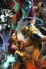 Preview iPhone wallpaper X-Men comics