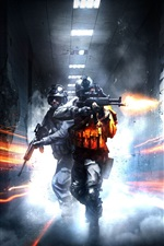 Preview iPhone wallpaper Battlefield 3 shooting