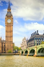 Preview iPhone wallpaper Big ben England London city