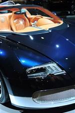 Bugatti luxury sports car
