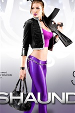 Preview iPhone wallpaper Girl in Saints Row: The Third