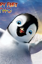 Preview iPhone wallpaper Happy feet Two HD