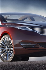 Preview iPhone wallpaper Lincoln MKZ car
