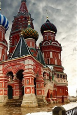 Preview iPhone wallpaper Moscow snow winter