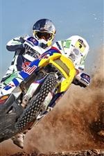 Preview iPhone wallpaper Motorcycle cross drift