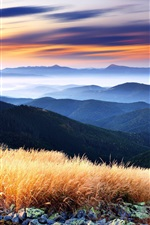 Preview iPhone wallpaper Mountains beautiful scenery