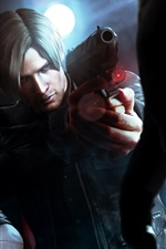 Preview iPhone wallpaper Resident Evil 6