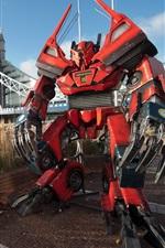 Robô Transformadores em Londres criativo
