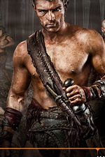 Preview iPhone wallpaper Spartacus: Vengeance