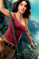 Preview iPhone wallpaper Vanessa Hudgens in Journey 2: The Mysterious Island