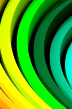 Preview iPhone wallpaper Abstract patterns of color