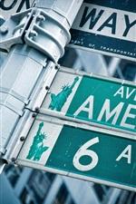 America's roads pointer