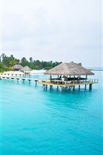 Preview iPhone wallpaper Beautiful Maldives Seychelles Island HD
