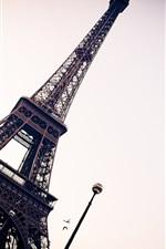 Preview iPhone wallpaper Eiffel Tower Paris France