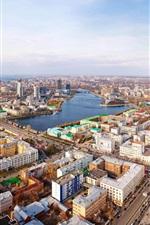 Ekaterinburg panorama city street
