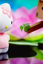 Preview iPhone wallpaper Hello Kitty