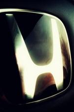 Preview iPhone wallpaper Honda logo