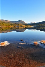 Preview iPhone wallpaper Landscape nature lake