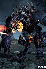 Preview iPhone wallpaper Mass Effect 3 fighting