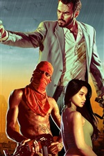 Preview iPhone wallpaper Max Payne 3