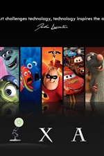 Preview iPhone wallpaper PIXAR cartoon movie star