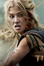 Preview iPhone wallpaper Rosamund Pike in Wrath of the Titans