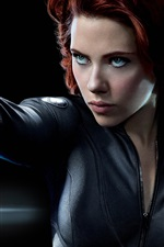 Preview iPhone wallpaper Scarlett Johansson in The Avengers