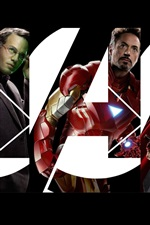 Preview iPhone wallpaper The Avengers HD