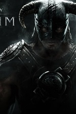 Preview iPhone wallpaper The Elder Scrolls V: Skyrim wide