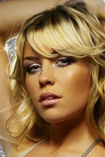 Preview iPhone wallpaper Abigail Clancy 01