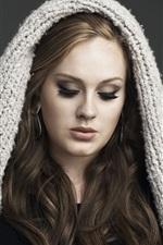 미리보기 iPhone 배경 화면 Adele 01