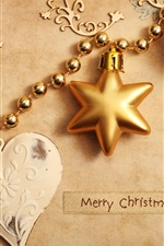 Preview iPhone wallpaper Christmas ornaments