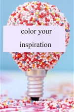 Preview iPhone wallpaper Color your inspiration