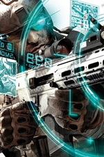 Preview iPhone wallpaper Ghost Recon: Future Soldier HD